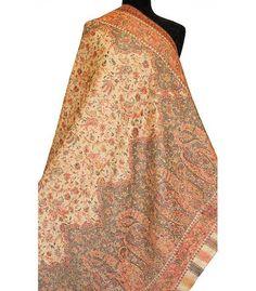 Indian shawls, Heritage Trading Company Kashmiri Suits, Kashmiri Shawls, Kurti With Jacket, Indian Men Fashion, Paisley Scarves, Cashmere Shawl, Groom Outfit, Pashmina Shawl, Trading Company