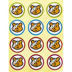 Pudsey Presentation Stickers in pudsey at Lakeland Bear Cupcakes, Drawing Conclusions, Rubber Flooring, Practical Gifts, Children In Need, Unusual Gifts, Diy Hacks, Hobbies And Crafts, Gift Bags