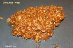 Pumpkin Spice No Bake Cookies | Recipes We Love