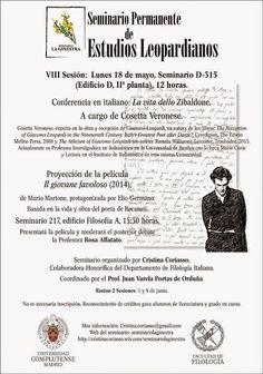 Voci Letterarie e non solo: VIII Sesión del Seminario Permanente de Estudios L...