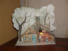 Зимняя диорама. - Как сделать модели из бумаги и картона своими руками - Форум