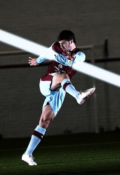 Burnley FC Matchwear 2012/13: Home Kit