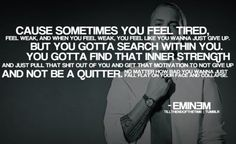 Eminem is actually a genius. But don't quote me.