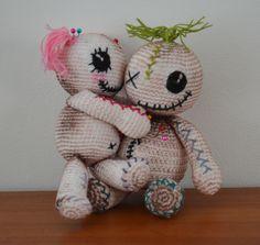 Voodoo dolls by AmigurumiBB FREE pattern