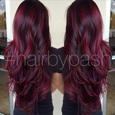 Chunky red highlights!