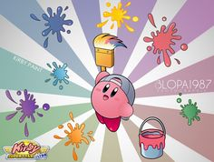 Kirby Paint by Blopa1987