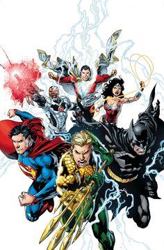 New 52 Justice League by Ivan Reis & Joe Prado