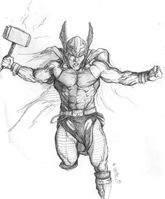 Thor by Eric W. Meador