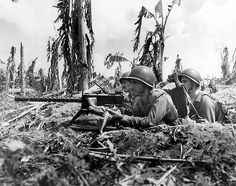 U.S.MARINES ON GUAM WWII From historical archives. See Guam, Wikipedia