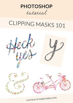 How to Use a Clipping Mask in Photoshop | angiemakes.com