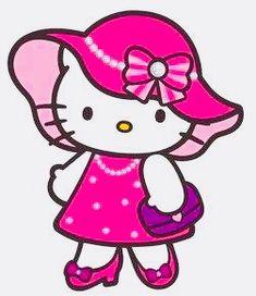 Hello Kitty Clipart, Hello Kitty Art, Hello Kitty My Melody, Hello Kitty Pictures, Hello Kitty Backgrounds, Hello Kitty Wallpaper, Little Twin Stars, Hallo Kitty, Sanrio Wallpaper