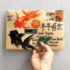 Pen Pal Letters, Diy Letters, Letter Art, Letter Writer, Envelope Art, Envelope Design, Aesthetic Letters, Birthday Gifts For Teens, Teen Birthday