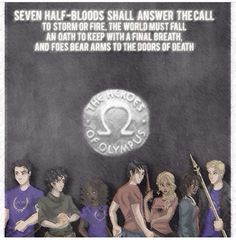 The seven- percy jackson