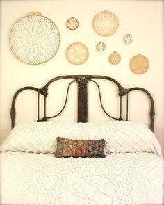 cuadros circulares decorativos cabecera
