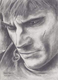 Jamie Lannister by CaseyJRhodesArt on Etsy, $35.00
