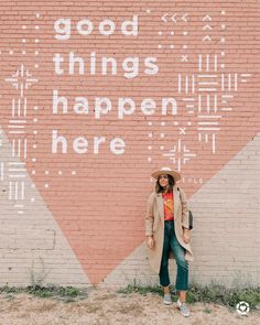 Nothing like a day in Dallas with my people (and my new favorite coat) 🤩🙌🏼 Screenshot this pic to get shoppable product details with the… Mural Wall Art, Graffiti Wall, Instagram Wall, Posca Art, School Murals, Murals Street Art, Kids Church, My People, Wall Colors