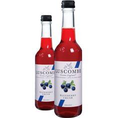 Crush BIO à la myrtille - Boissons bio #Luscombe en France www.sophies-store.com
