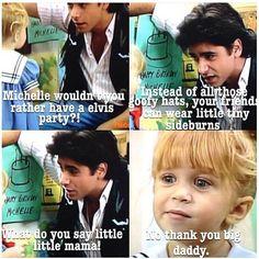 Elvis party? ~ Full House Quotes #amusementphile