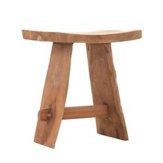 Stolička z teakového dřeva VICAL HOME Tsumeb