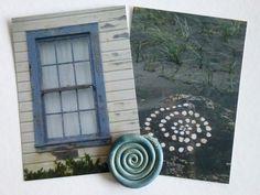 Geschenk-Set Outdoor Structures, Paper, Spirals, Postcards, Windows, Presents