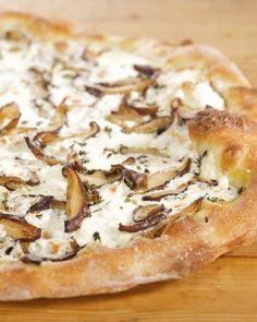 Shiitake Mushroom Pizza Recipe
