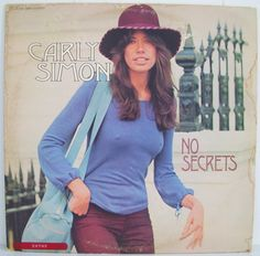 a favorite carly simon album cover from 1972
