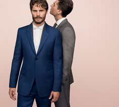 Discover the Adv Concept Ermenegildo Zegna Couture SS14: Éminence grise by Stefano Pilati feat. actor Jamie Dornan