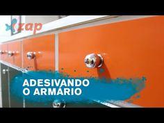 Veja como adesivar o armário da cozinha - Faça Você Mesmo - YouTube