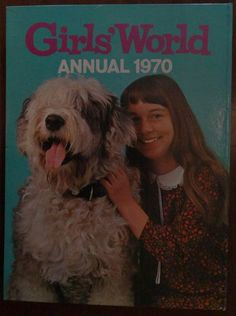 Girls' World Annual 1970. Published in 1969. In by Retrofanattic