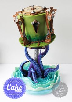 EDITOR'S CHOICE (03/14/2015) Steampunk Lighthouse by Sweet Delights Cakery View details here: http://cakesdecor.com/cakes/186392-steampunk-lighthouse