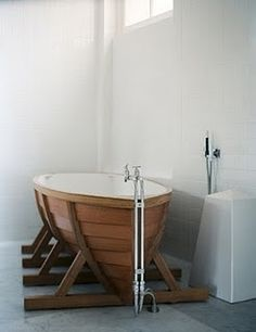 Boat bath! ok this is pretty cool :) I don't want one but still it's cool :)
