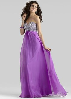 The color is amazing on this formal dress