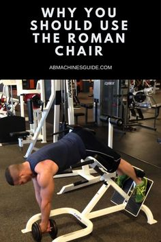 5 Reasons Why You Need to Buy Roman Chair http://abmachinesguide.com/5-reasons-to-buy-roman-chair/ #workout #fitness