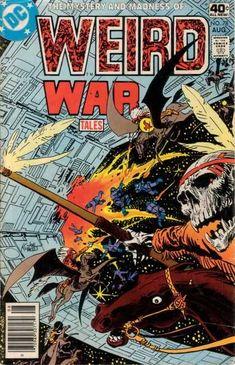 Weird War Tales 78 cover Joe Kubert