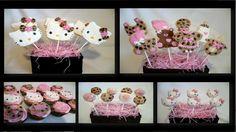 pink and leopard babyshower