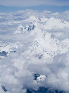Mount Everest, Himalayas, Border Nepal and Tibet Photographic Print