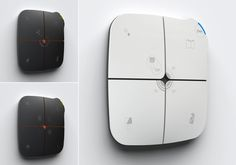 Eelecta HomePAD | domotic system - RedDot Award 2012 by Marco Fossati, via Behance