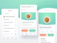 Nutrition Consultant App
