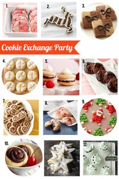 Planning to attend a Cookie Exchange Party this year? Bring one of these tasty treats: http://www.bhg.com/blogs/delish-dish/2012/11/29/cookie-exchange-party/