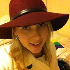 Loving my new hat!!!