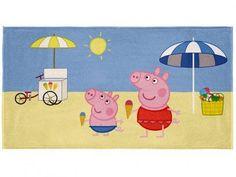 Toalha de Banho Lepper - Peppa Pig com as melhores condições você encontra no Magazine Marcelofn. Confira!
