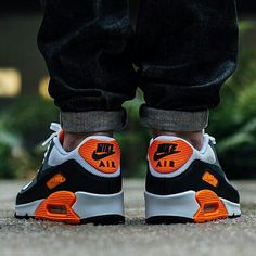 san francisco c573d 1a72a Infra...orange  Check out these new Air Max 90s on SneakerNews. Air Max  90Nike Air ...