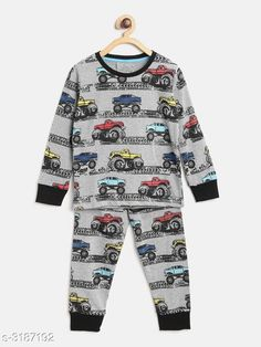 Nightsuits  Fancy Cotton Blend Printed Night Suit Fabric: Top - Cotton Blend  Pant - Cotton Blend Sleeves: Sleeves Are Included Neck: Round Neck Size: Age Group (1 - 2 Years) - 18 in Age Group (2 - 3 Years) - 20 in Age Group (3 - 4 Years) - 22 in Age Group (4 - 5 Years) - 24 in Age Group (5 - 6 Years) - 26 in Age Group (6 - 7 Years) - 28 in Age Group (7 - 8 Years) - 30 in Type: Stitched Description: It Has 1 Piece Of Girl's Top & 1 Piece Of Pant Work: Top - Printed  Pant - Printed Country of Origin: India Sizes Available: 2-3 Years, 3-4 Years, 4-5 Years, 5-6 Years, 6-7 Years, 7-8 Years, 1-2 Years   Catalog Rating: ★4.3 (916)  Catalog Name: Girl's Fancy Cotton Blend Printed Night Suits Vol 1 CatalogID_438294 C62-SC1158 Code: 592-3187192-