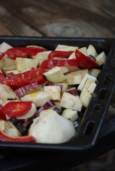 Légumes rôtis à la Michel Biehn