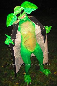 Awesome Homemade Flasher Gremlin Costume... This website is the Pinterest of costumes