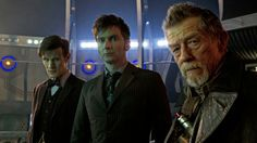 The Doctors in the 50th anniversary special.  Photo Galleries   Doctor Who   BBC America