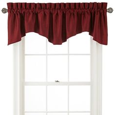 Royal Velvet® Supreme Scalloped Valance - JCPenney