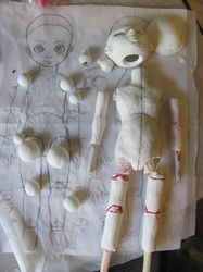 How to Make a Ball Jointed Doll - Mangaka Resource