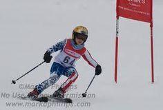 Adam ski racing
