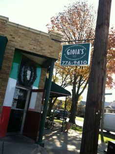 Gioia's Deli in St Louis, MO - featured on Bizarre Foods America on Food Network: In the neighborhood known as the Hill, Gioia's makes its own salami from the ground parts of a pigs head, including the nose, ears and cheeks. You'll find it on their sandwich known as the Hot Salami.